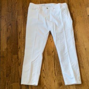 Gap Always Skinny White Jeans Size32